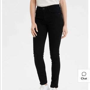 American Eagle Outfitters Jeans - Black high waisted jeans